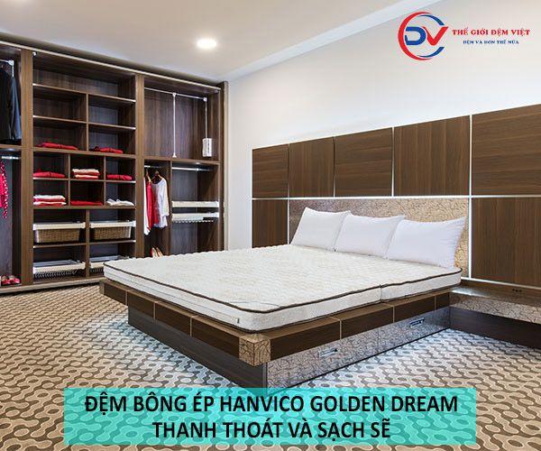 Phòng ngủ thoáng hơn với bộ chăn ga gối Hanvico